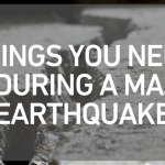 10 Things You Need to Do During a Major Earthquake