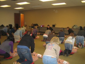 Orange County TIP CPR Training!