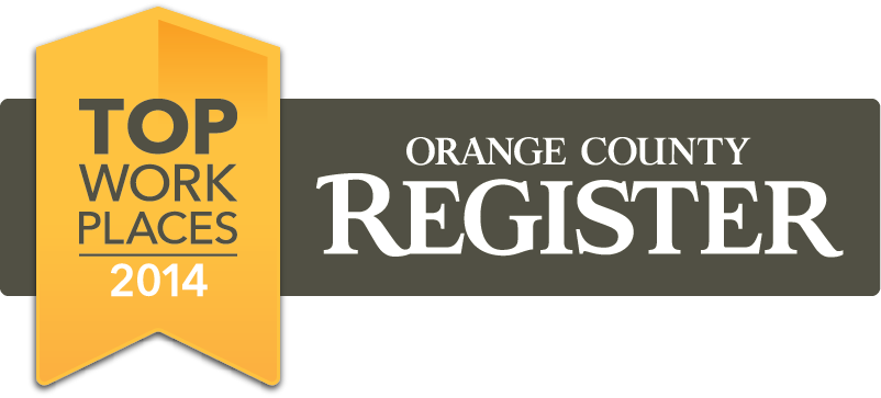 Surefire CPR Orange County Register Top Workplace 2014
