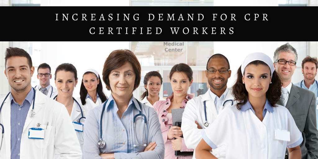 Why Is The Demand For Cpr Certified Workers Increasing Surefire
