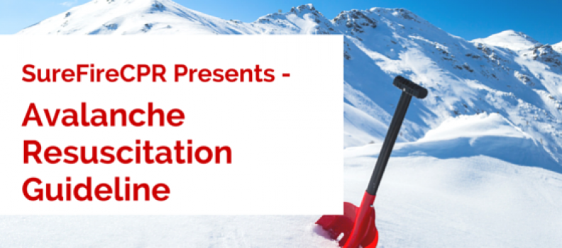 Avalanche Resuscitation Guideline – Winter CPR