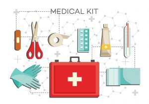 essential first aid items