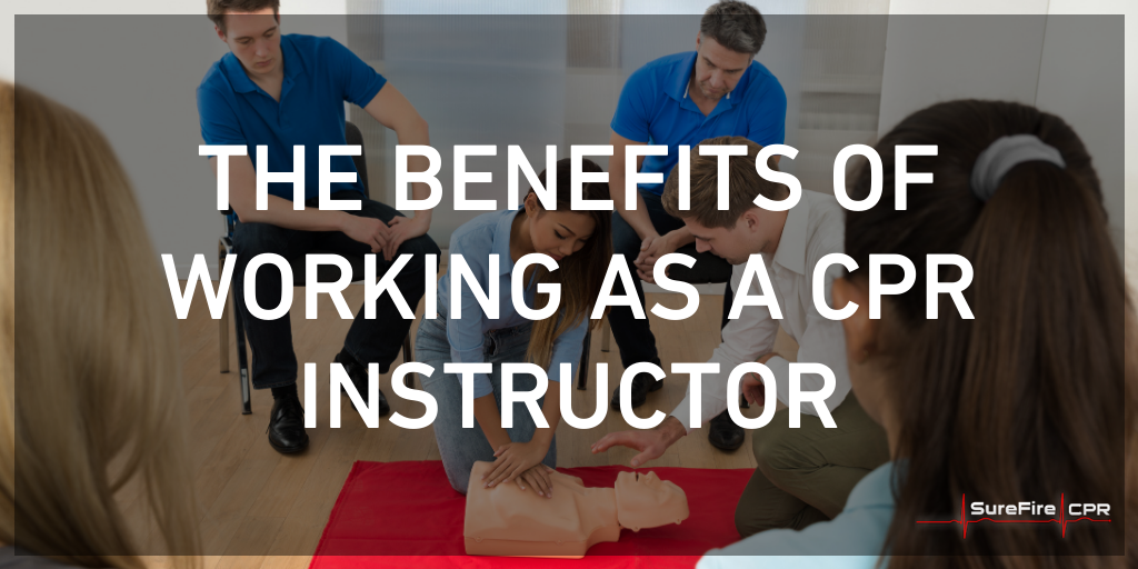 benefits of being a cpr instructor