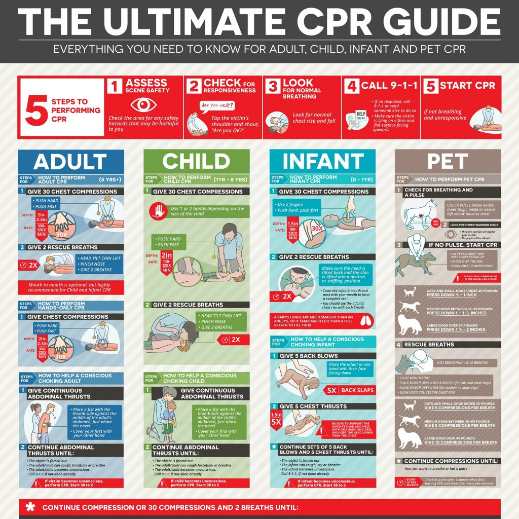 photo relating to Printable Pocket First Aid Guide named The Top CPR Specialist - How in direction of Do CPR SureFire CPR